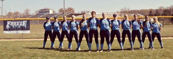 Fauquier Freeze girls softball team