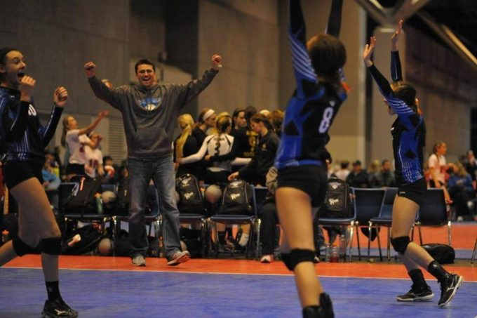 Adrenaline Volleyball Academy victory