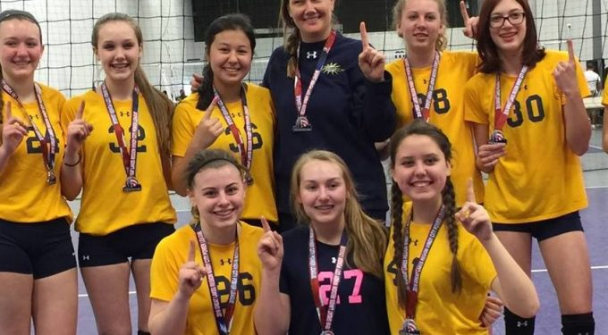 Kane County Jrs Volleyball team