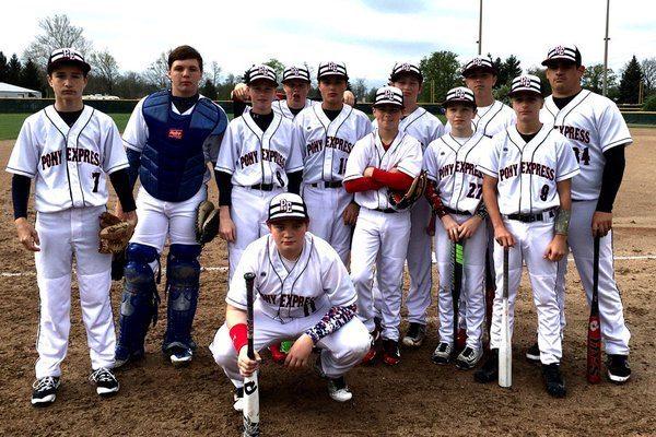 Pony Express Baseball team